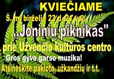 Joninių piknikas
